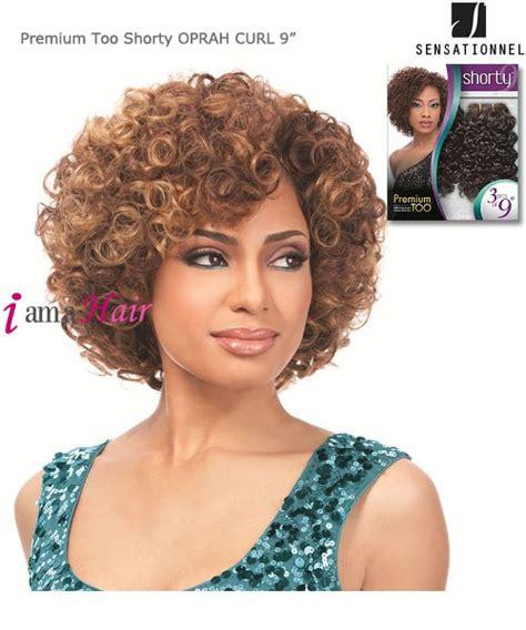 oprah curls weave sensationnel premium too shorty oprah curl weave extention