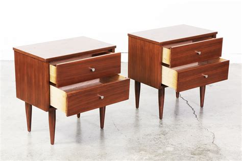 How To Make Home Decoration Mid Century Modern Nightstands How Make A Modern