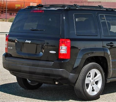 chrome jeep patriot jeep patriot chrome trunk lid trim rear chrome trim