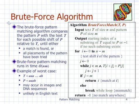 image pattern matching algorithm in java chpt9 patternmatching