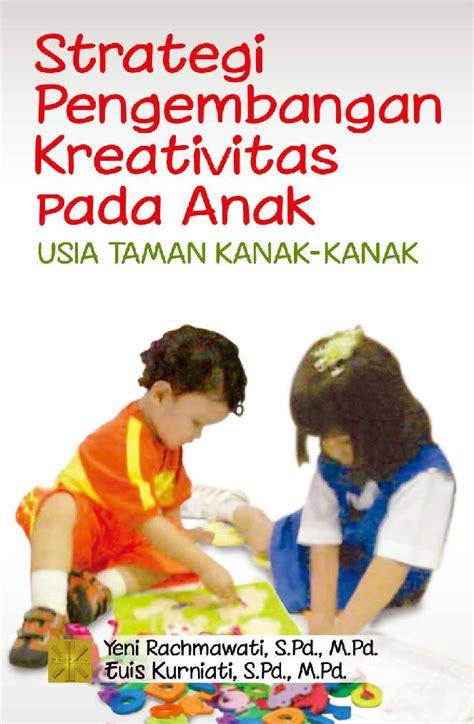 jual buku strategi pengembangan kreativitas pada anak tk