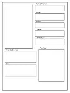 character card template character template by lexial xiii on deviantart