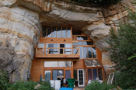 build on site homes amazing missouri home built in natural cave but the