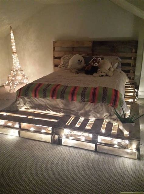 Catchy And Distinct Style Pallet Bed Diy Wooden Pallet Furniture 23 Really Fascinating Diy Pallet Bed Designs That Everyone Should See Diy Crafts Home