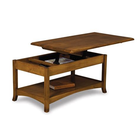 Open Top Coffee Table Amish Coffee Tables Amish Furniture Shipshewana Furniture Co