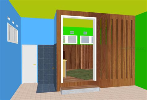 desain mushola mungil inspirasi desain rumah islami contoh o