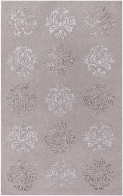 Grey Damask Rug by Tamira Damask Rug In Gray By Surya Rosenberryrooms