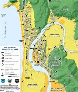 tsunami map oregon the new tsunami evaucation maps for pacific city