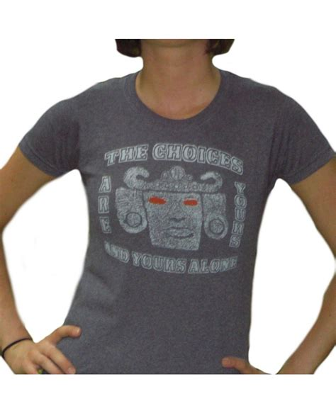 Tshirt The Choise Is Yours Imbong the choices are yours and yours alone olmec t shirt