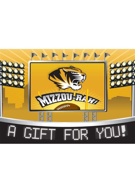 Tigers Com Gift Card Balance - missouri tigers gift card card 2123140