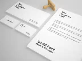 Free Stationery Templates by Free Stationery Mockup Template Pixlov
