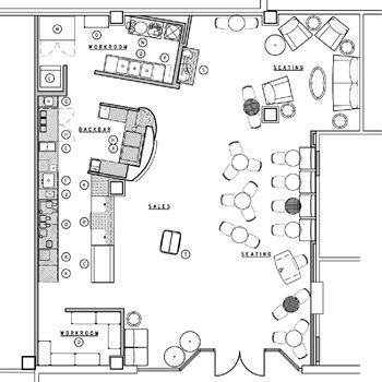 coffee shop floor plans 21 best cafe floor plan images on pinterest restaurant