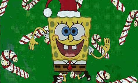 spongebob christmas reaction gifs