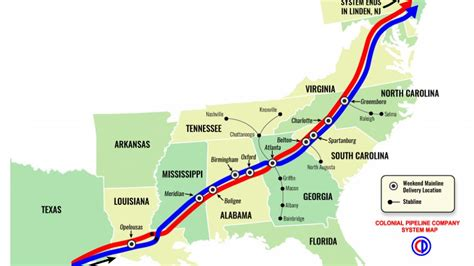 Colonial Plans by Colonial Pipeline Plans Sunday Afternoon Restart News 12 Now