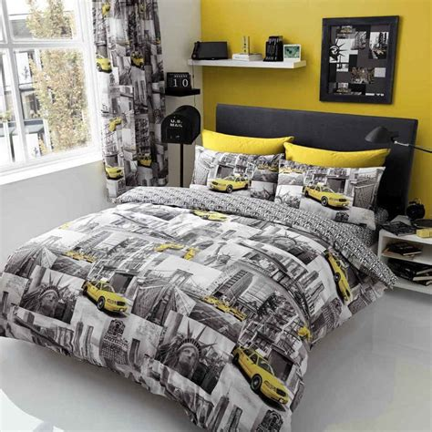 Nyc Comforter Set by New York Patchi Duvet Cover Quilt Cover Bedding Set With
