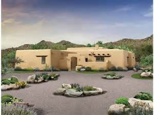 Adobe Style Home Adobe House Plan With 2276 Square And 3 Bedrooms From