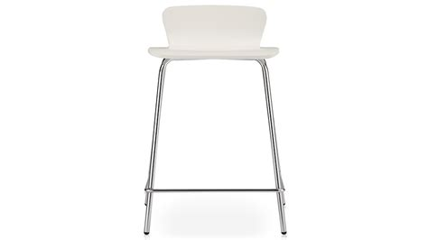 Felix White Counter Stool felix white counter stool in bar stools crate and barrel