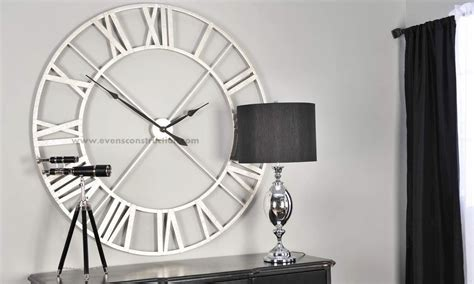 Large Wall Clock Modern by Contemporary Large Wall Clock For Living Space Wall Clocks