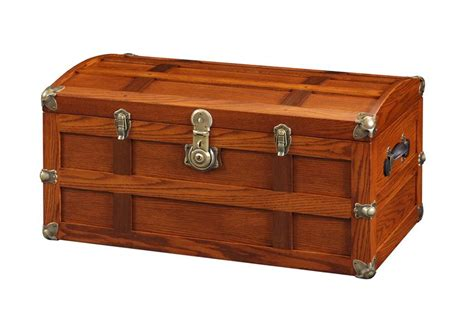 Home Decor Sticks oak wood steamer trunk from dutchcrafters amish furniture