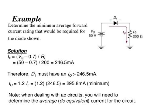 diode power dissipation calculation topic 3 pn junction and diode