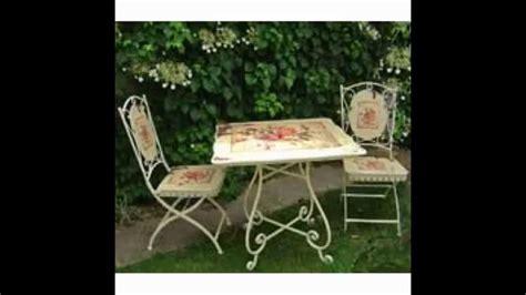shabby chic patio furniture shabby chic garden furniture ideas