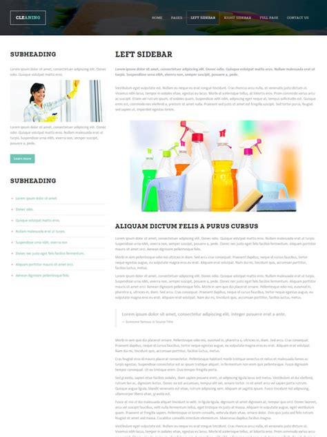 Cleaning Chemical Html Template Cleaning Website Templates Dreamtemplate Chemical Website Templates