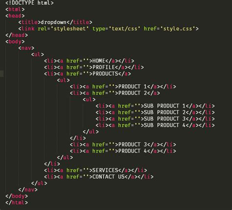 membuat menu dropdown menggunakan html membuat dropdown sederhana menggunakan css kursus