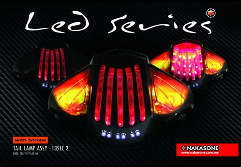 Lu Led Jupiter Mx yamaha lagenda 115z and 135lc v2 led l with strobe