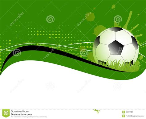 soccer poster template sport template with soccer football stock