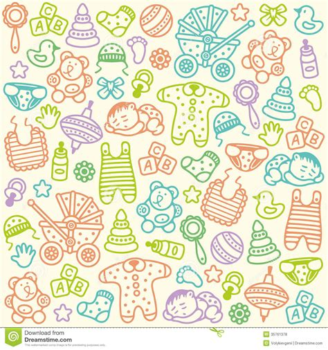 pattern videos for babies baby pattern stock vector illustration of sunny play