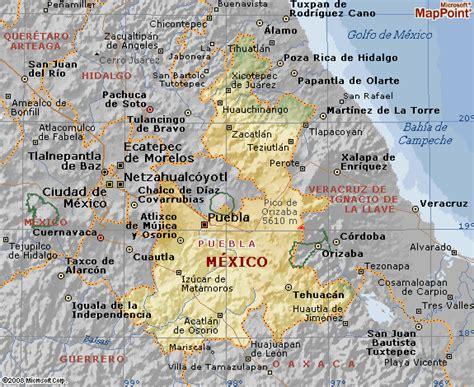 mapa de puebla mexico estado de puebla car interior design