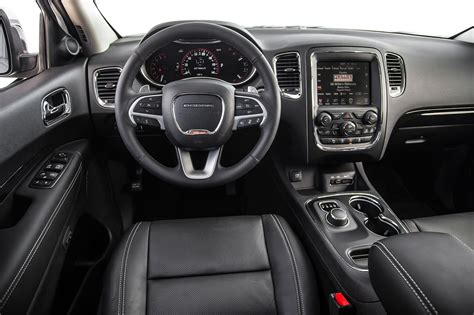 jeep durango interior 2014 dodge durango r t and citadel first test truck trend