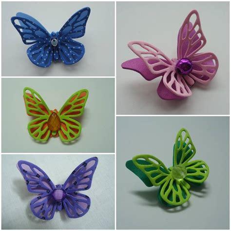 imagenes mariposas de goma eva broches planeta manual