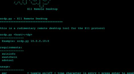 exploiting x11 unauthenticated access xrdp is a tool for the x11 protocol exploiting