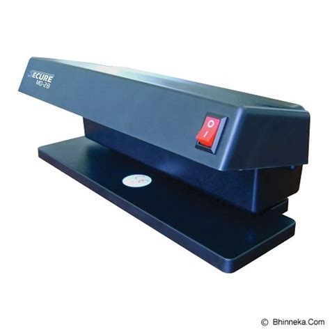 Alat Deteksi Uang Palsu Secure Md38 Money Detector Murah jual secure money detector md 28 murah bhinneka
