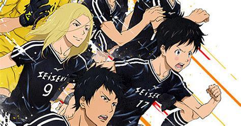 days anime days soccer anime gets sequel news anime news network