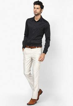 Sw Kemeja Casual Pria Black S Guide To Pant Shirt Combination