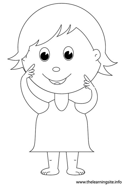 body coloring pages for toddlers body parts coloring pages for kids coloring home