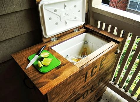 backyard ice chest diy ice chest ikea hack 7 projects for the backyard