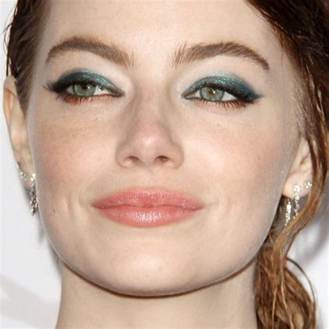 emma stone eye makeup emma stone s makeup photos products steal her style
