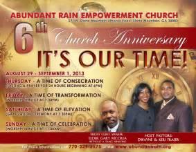 Church anniversary images 6th church anniversary