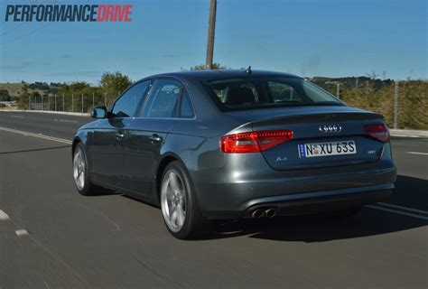 Review Audi A4 2013 by 2013 Audi A4 Sport Edition Review Video Performancedrive