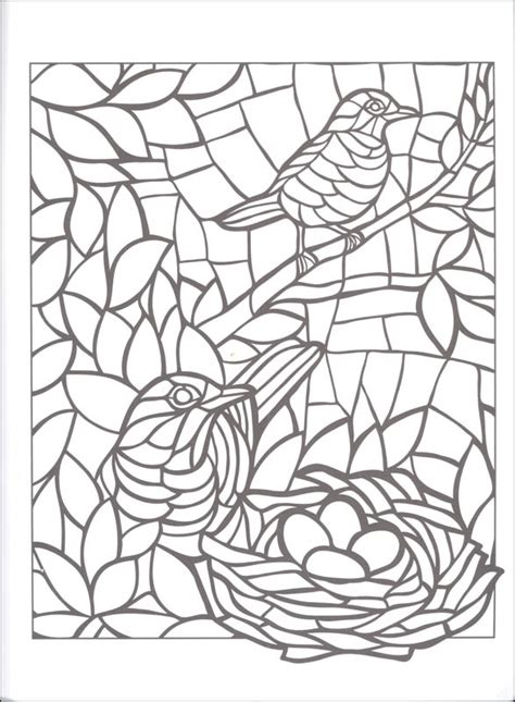 mosaic animal coloring pages coloring pages
