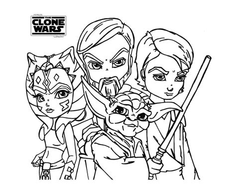 coloring pages of star wars the clone wars star wars the clone wars printable coloring pages fat