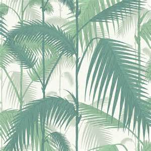 Papier peint palm jungle cole and son jade 95 1002 cole and son