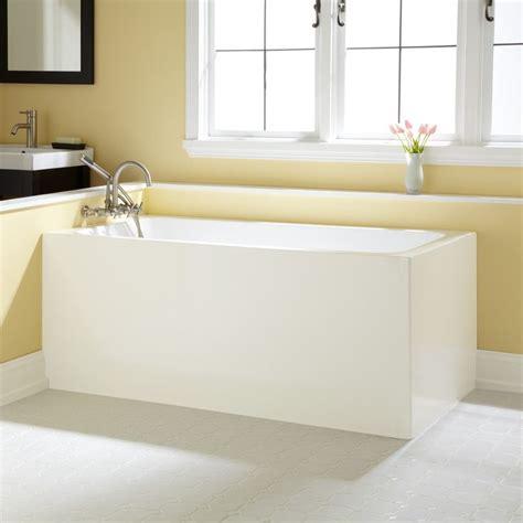 wonderful white acrylic soaking bathtub with chrome shower 1000 images about dream house on pinterest wall mount