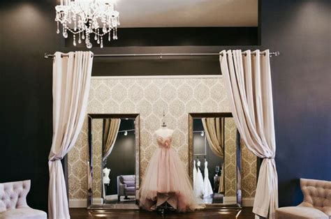 Dressing Room Curtains Designs The White Dress Co The White Mirror Walls And Changing Room