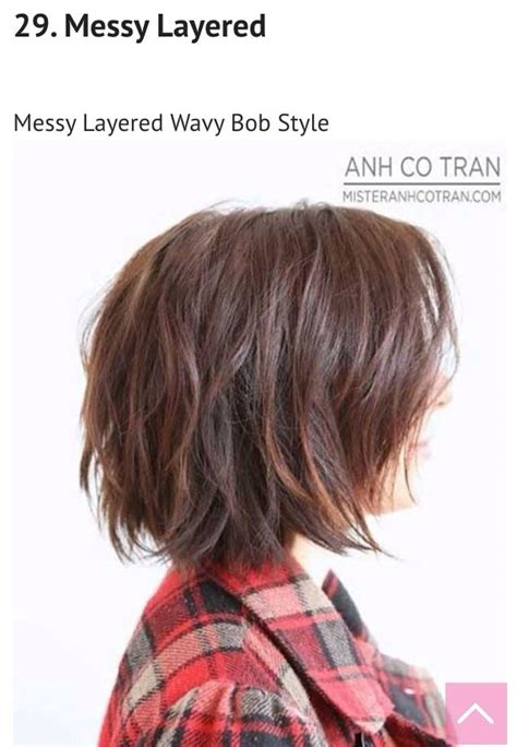 messy short layers on lower length 17 best images about hair on pinterest cute short hair