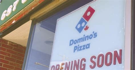 domino pizza whitby flin flon domino s location chosen the reminder flin