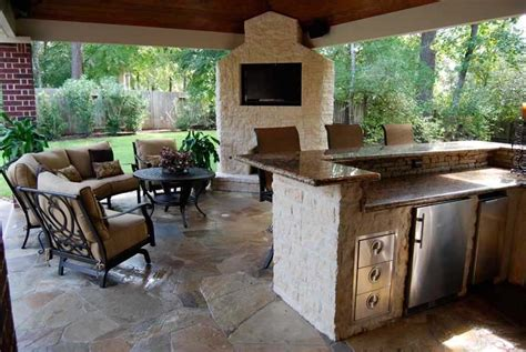 outdoor kitchens rocks masonry island masonry